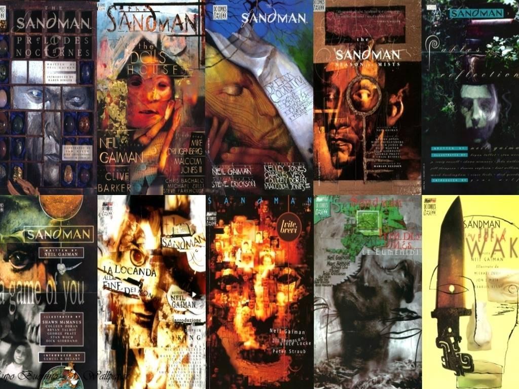 Las distintivas portadas de Dave McKean fueron parte de la identidad de The Sandman desde un principio.