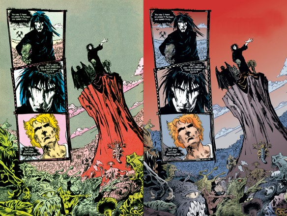 Las ediciones más recientes cuentan con un recoloreado digital que hace resaltar más el arte en cada historia.