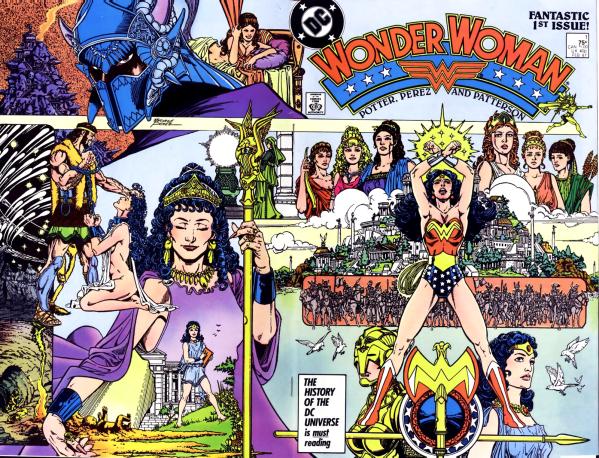 Wonder Woman fue uno de los proyectos más personales de Pérez dentro de DC.