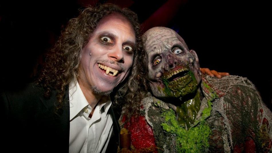 Además del rock, el horror es la otra gran pasión de Kirk Hammett.