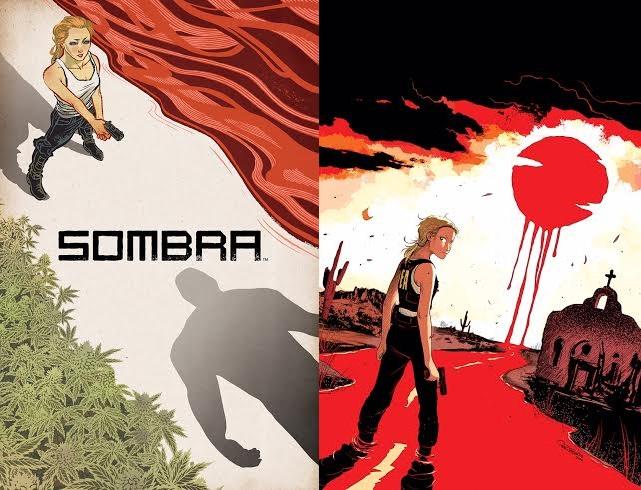 Un vistazo a la portada del primer número (izquierda) y a una página interior (der.) de Sombra, colaboración de Justin Jordan y Raúl Treviño a ser publicada este verano por BOOM! Studios.