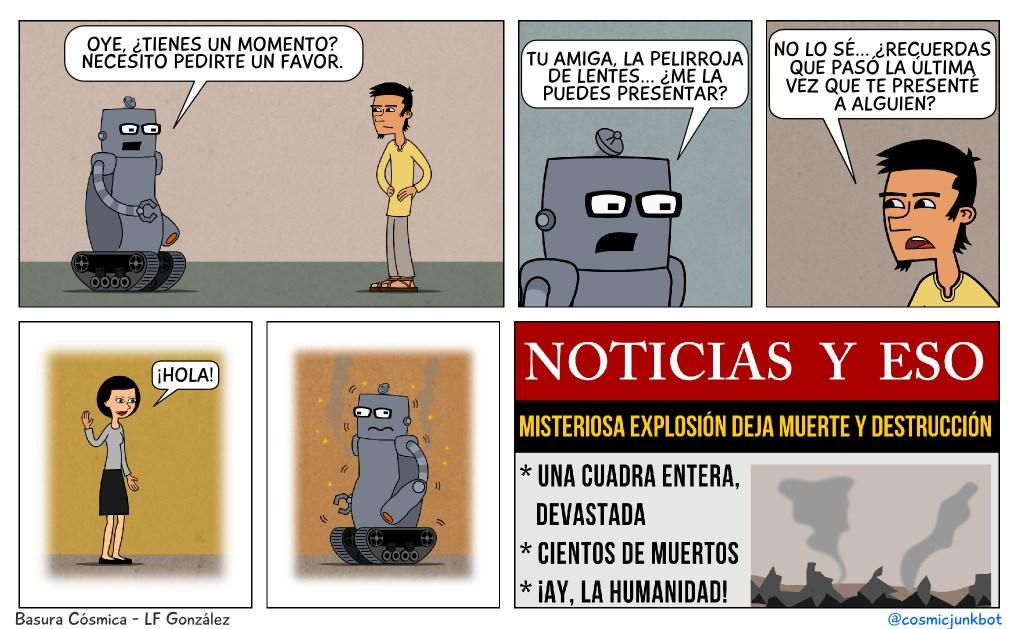 Por L.F. González, alias Basura Cósmica