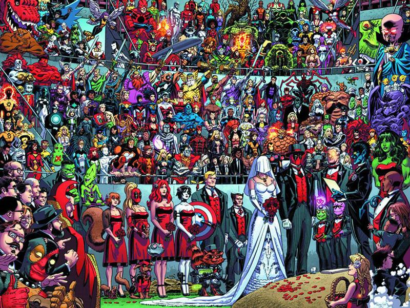 La pieza más famosa de Koblish es la portada de Deadpool 27, poseedora de un Récord Guinness.