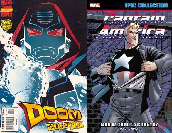 En Doom 2099 entintó a grandes artistas, mientras que en Captain America hizo gran equipo con Ron Garney.