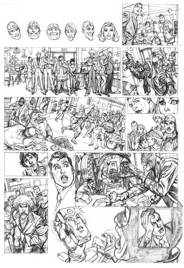 JLGL 08 - Metal Men Wednesday Comics