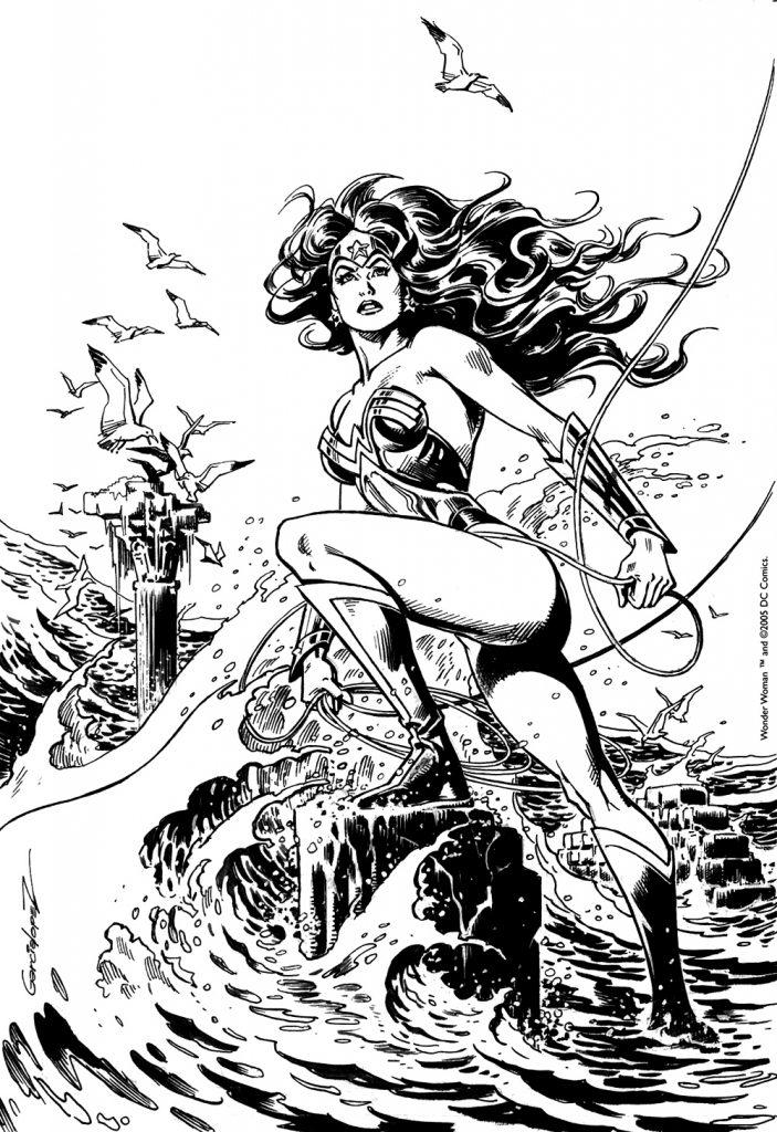 JLGL 14 - Wonder Woman cover