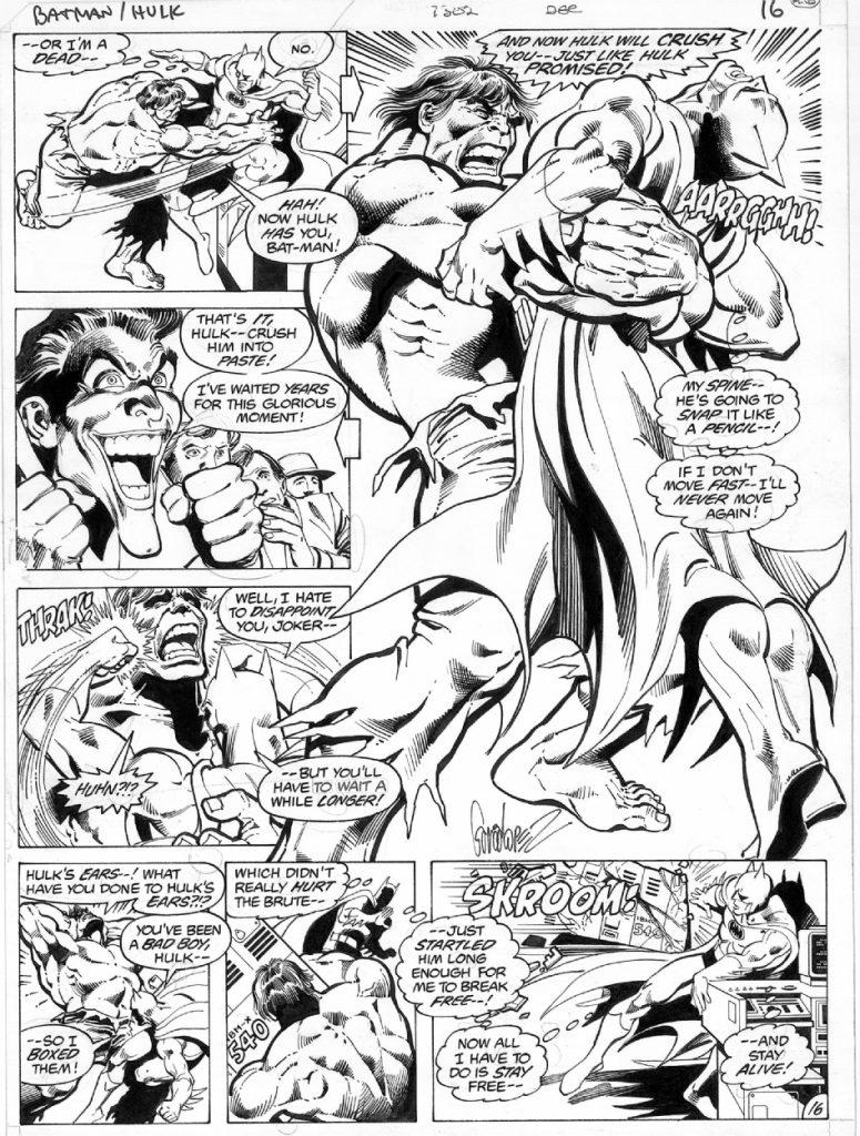 JLGL 15 - Batman vs Hulk