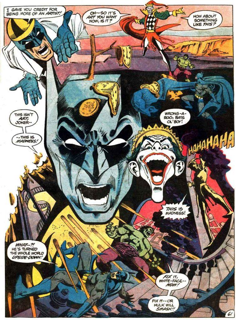 JLGL 31 - Batman vs Hulk