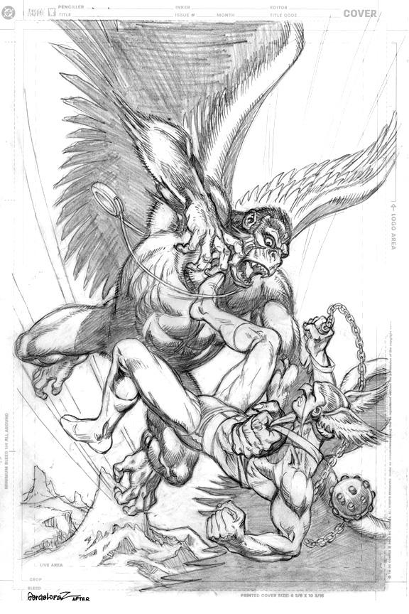JLGL 34 - Hawkman