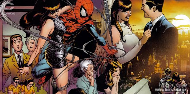 Lógica Marvel: Preferimos pacto con el diablo a un divorcio. Cómics, tienes que amarlos.