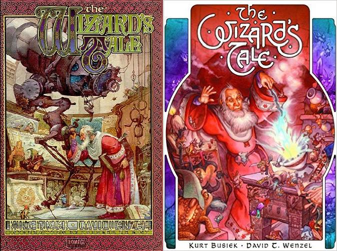 The Wizard's Tale fue originalmente publicado bajo el sello Homage, de Wildtorm, y más recientemente por IDW.