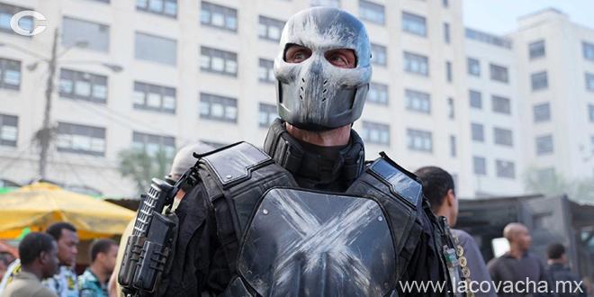 Crossbones cumplió con su explosivo papel en la película
