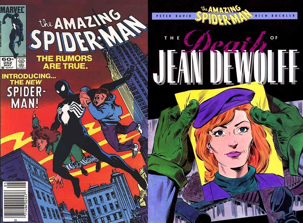 Breeding participó en dos importantes momentos para Spider-Man a fines de los 80.