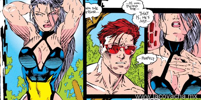 Entre sus poderes mutantes está el ser brutalmente sensual