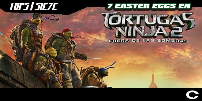 TMNT | Top 7 EASTER EGGS DE TORTUGAS NINJA 2: FUERA DE LAS ...
