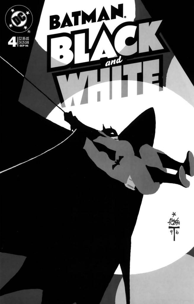 Alex Toth - Batman bw