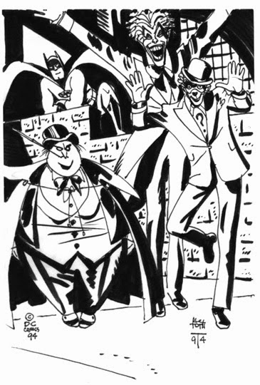Alex Toth - Batman villains
