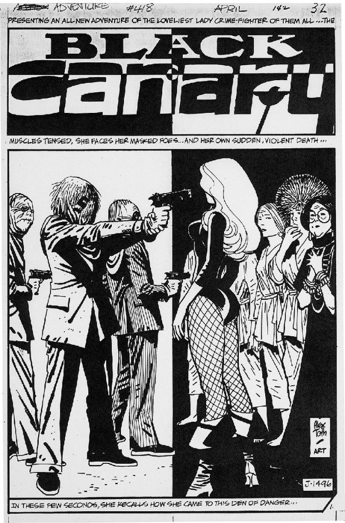Alex Toth - Black Canary3