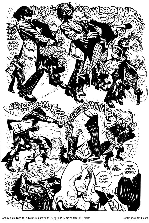 Alex Toth - Black Canary4
