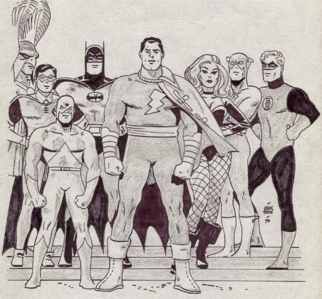 Alex Toth - DC Heroes