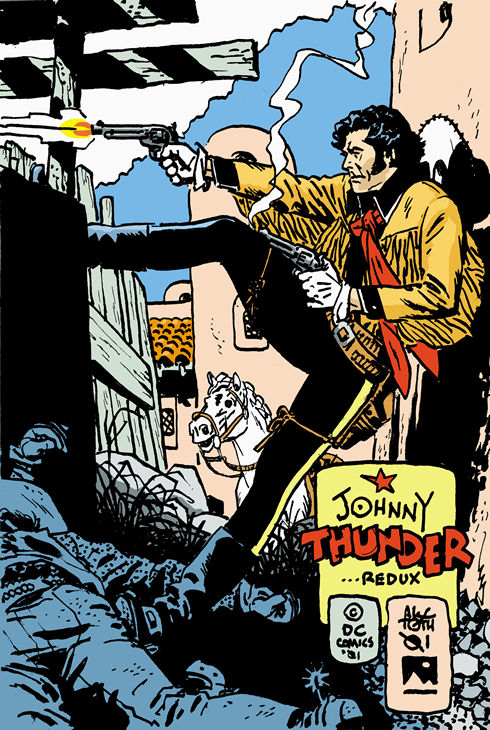 Alex Toth - Johnny Thunder