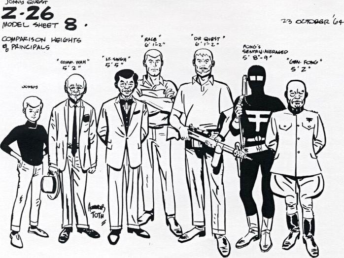 Alex Toth - Jonny Quest