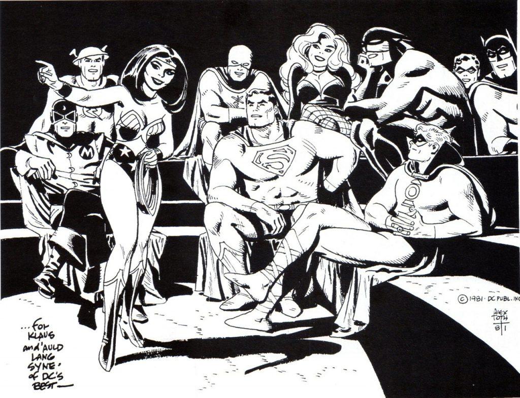 Alex Toth - Justice Society