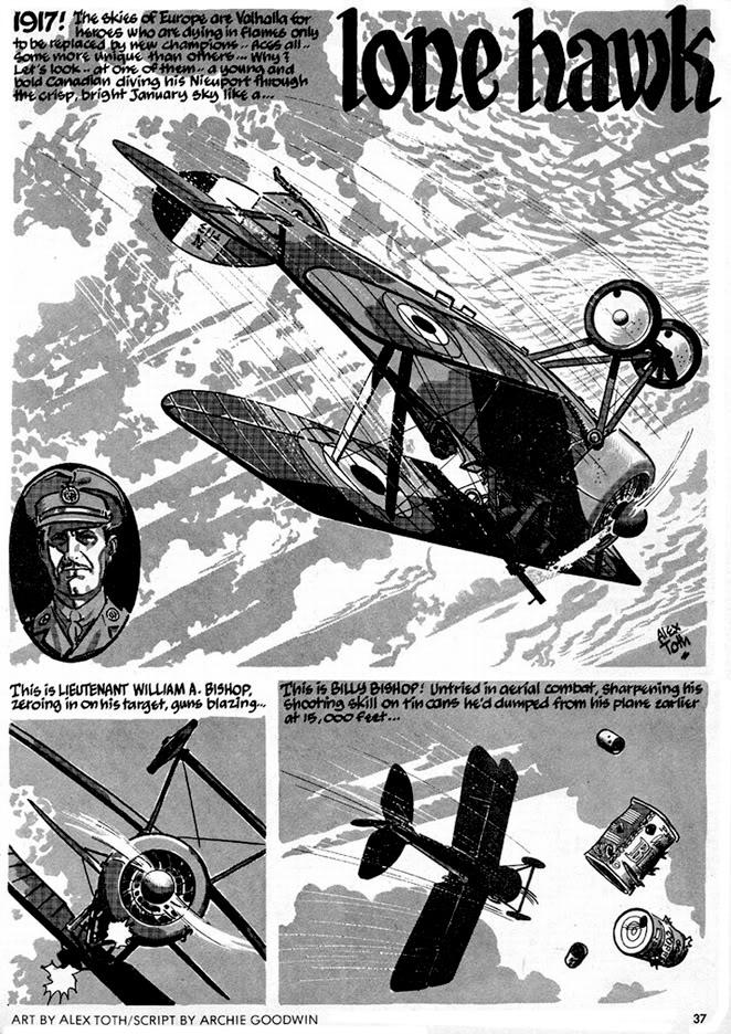 Alex Toth - Lone Hawk