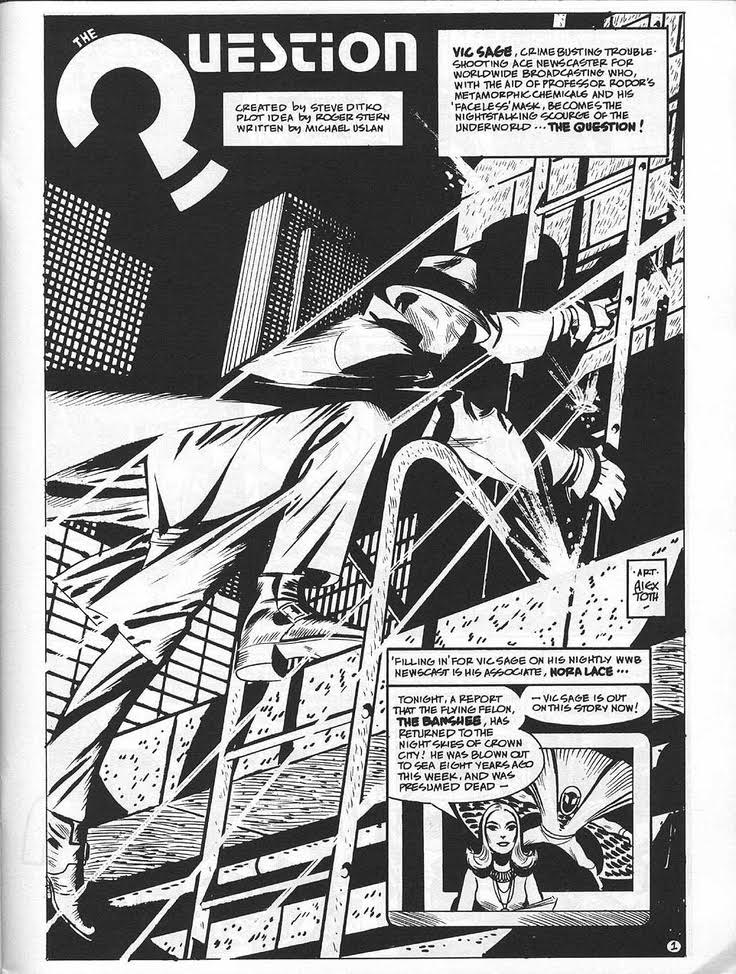 Alex Toth - Question