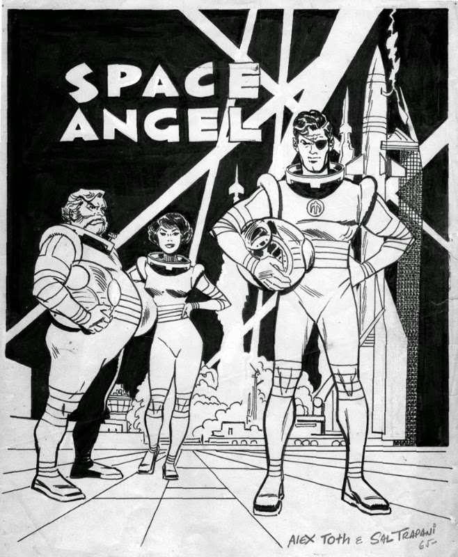 Alex Toth - Space Angel