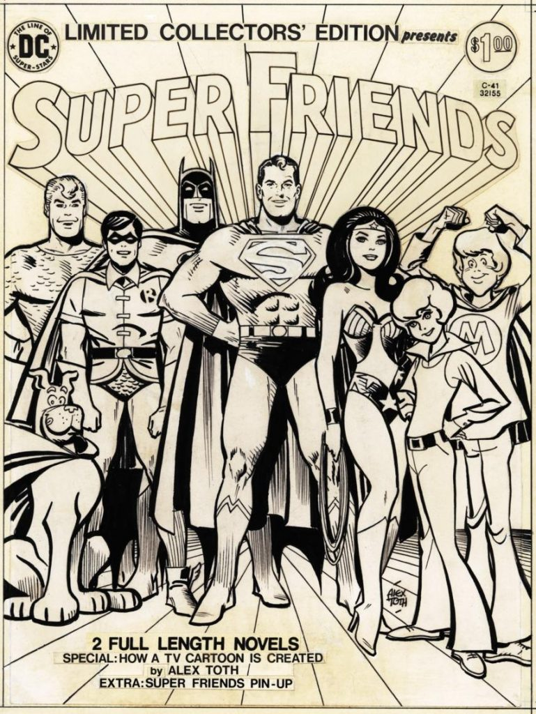 Alex Toth - Super Friends