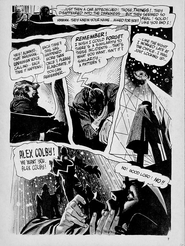 Alex Toth - The Stalkers
