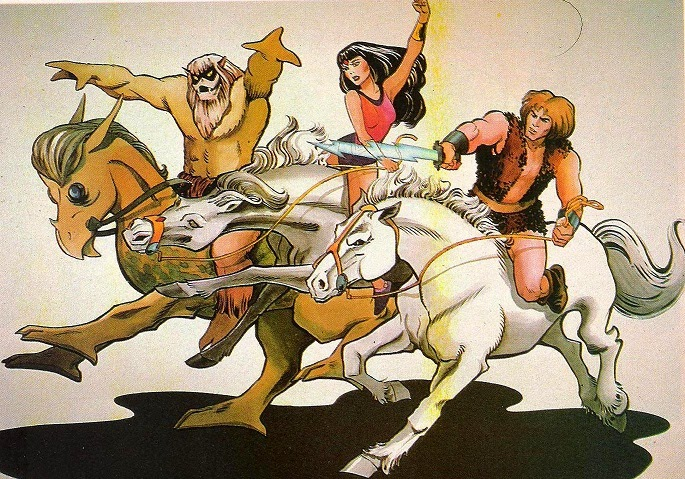 Alex Toth - Thundarr