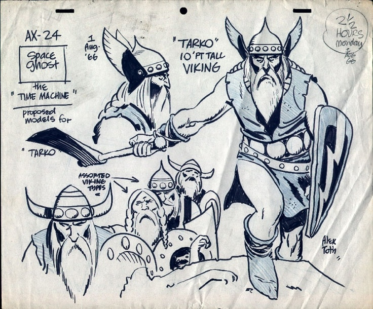 Alex Toth - Viking