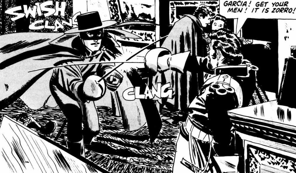 Alex Toth - Zorro4