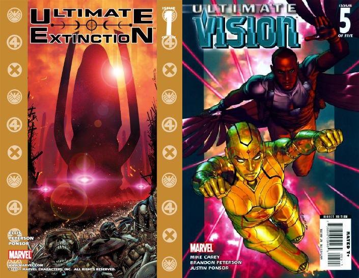 Su regreso a Marvel se caracterizó por su participación en el universo Ultimate.