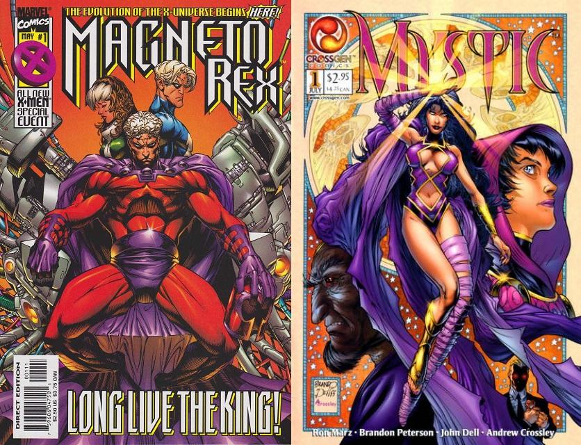 Su regreso a Marvel fue breve, y tras otro paseo mutante emigró a CrossGen para lanzar Mystic.