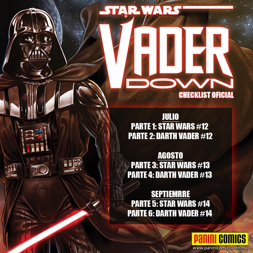 SW VADER DOWN