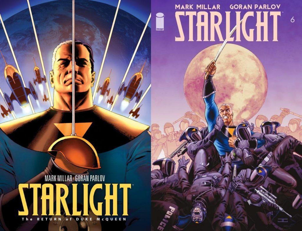 Las espectaculares portadas de John Casaday redondean el paquete de excelencia que es Starlight.