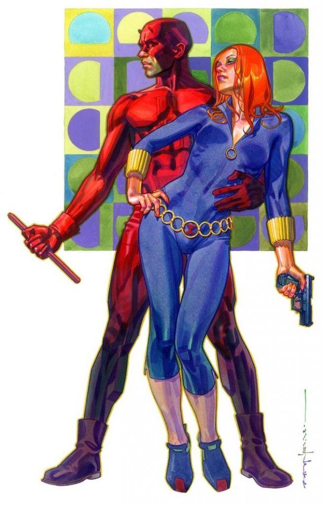 Stelfreeze - Daredevil and Black Widow