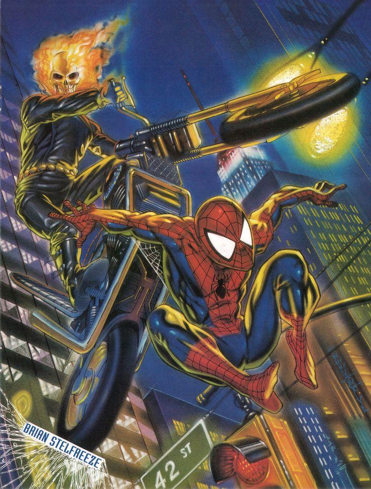 Stelfreeze - Ghost Rider - SpiderMan