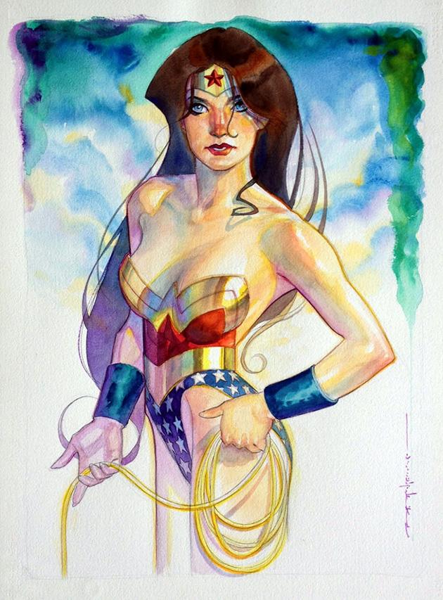 Stelfreeze - Wonder Woman