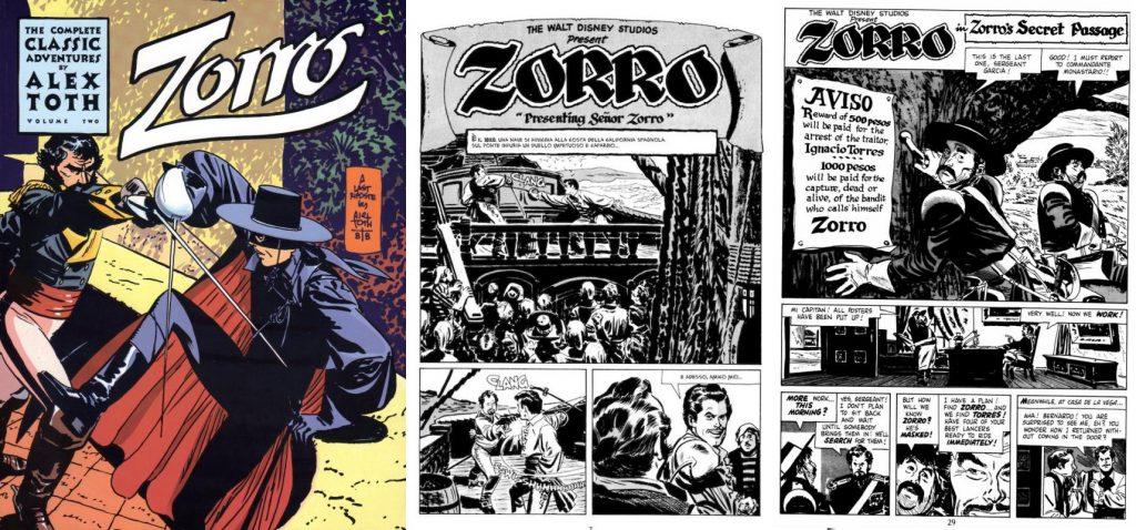 Su versión del Zorro es legendaria, y a la fecha sigue recibiendo reimpresiones.