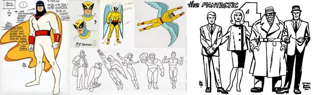 Sin duda el trabajo más conocido de Toth es el de las animaciones de Hanna-Barbera, aún si poca gente sabe del papel que tuvo en su desarrollo.