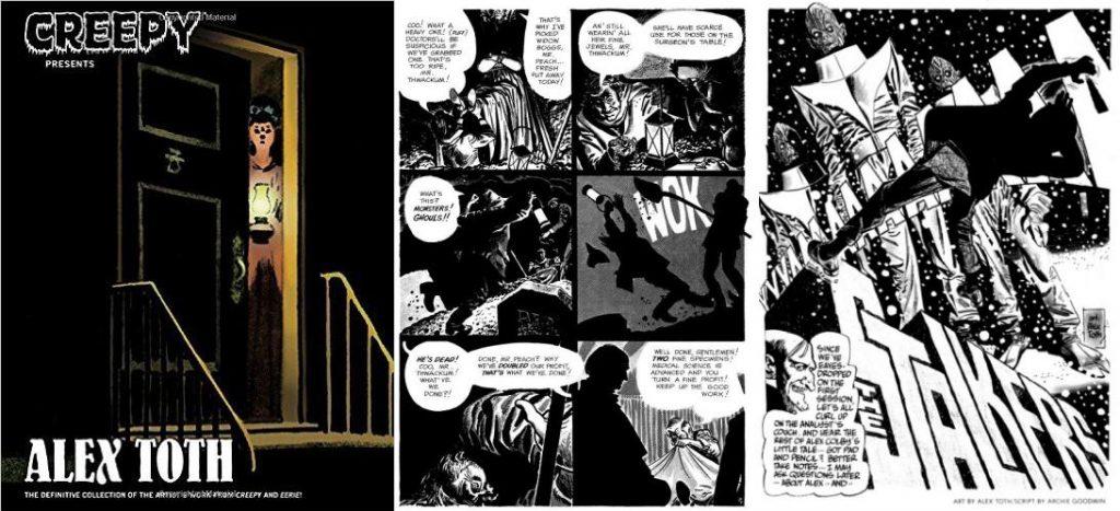 Las historias de horror que hizo para la Warren fueron recientemente recopiladas por Dark Horse en un tomo de pasta dura.