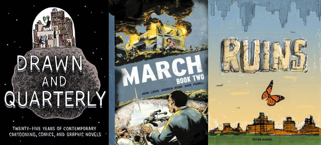 Drawn and Quarterly - March Book Two - Ruins