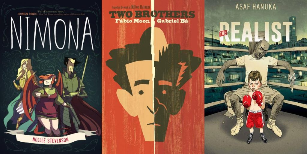 Nimona - Two Brothers - The Realist