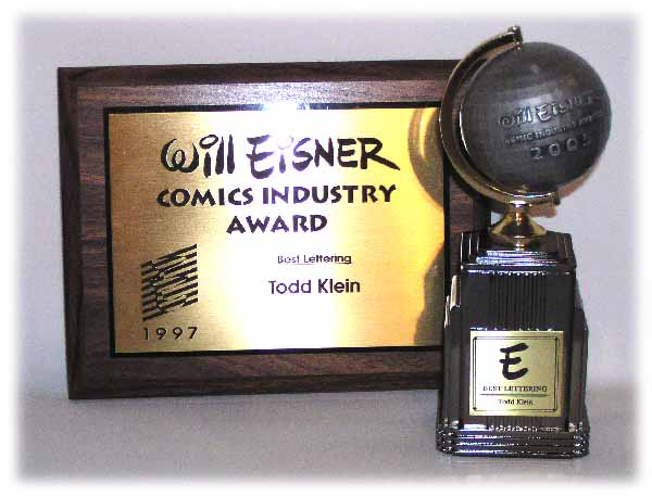 Originalmente el Eisner era una placa conmemorativa, pero hace más de una década que es una estatuilla.