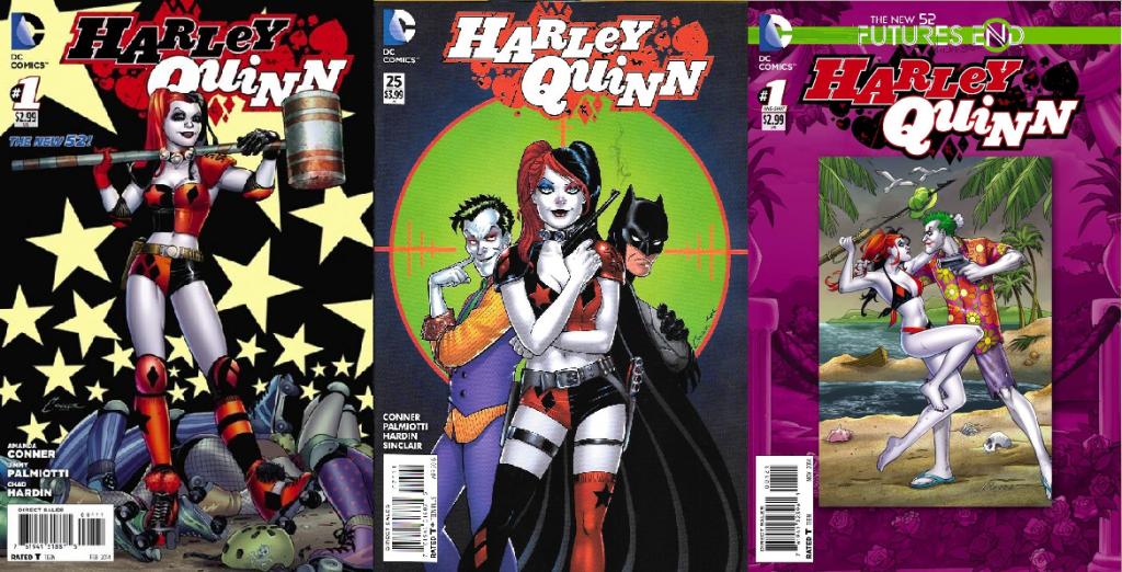 Con más de dos años y una veintena de números, es innegable que el trabajo más identificado con este artista es Harley Quinn.