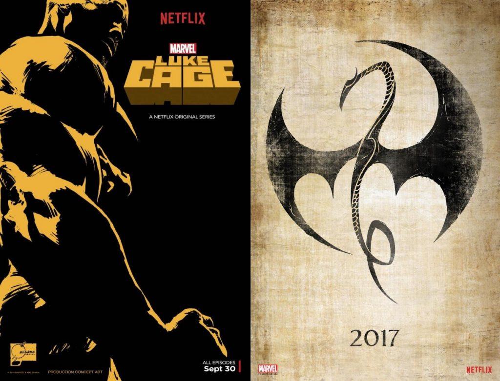 Los dos próximos estrenos de Marvel en Netflix serán Luke Cage y Iron Fist.